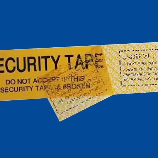 防伪不干胶标签